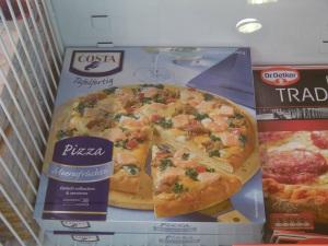 Pizza pesce Germania